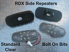 RDX LED Standard CLEAR Side Repeaters Defender 90/110 1994 to 1998 300 Tdi ONLY