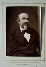 PHOTO 1881 PORTRAIT ARTISTE PEINTRE COSSMANN MAURICE   j414