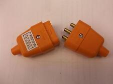 3 PIN 10 Amp 3 Core TOSAERBA DECESPUGLIATORE GIARDINO PROLUNGA CONNETTORE