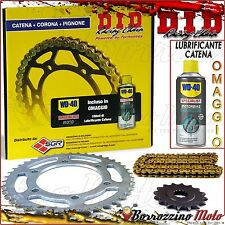 KIT TRASMISSIONE DID CATENA CORONA PIGNONE YAMAHA 125 DT X Supermotard 2005 2006