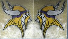 "Minnesota Vikings NFL 3.75"" Iron On Embroidered Patch SET ~USA Seller~FREE Ship!"