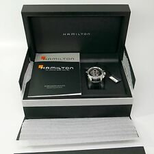 Rare Hamilton Rattrapante Split Second Chronograph Watch *Ltd Edition 365 Pieces