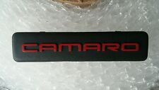 Chevy Camaro Interior Dash Emblem BADGE SIGN LOGO RED BLACK 1995-2002 95-02 OEM