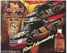 2013 KEVIN HARVICK / RON HORNADAY JR, #9/14 ANDERSON'S MAPLE SYRUP CWTS POSTCARD