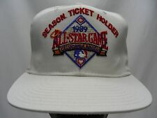 CALIFORNIA ANGELS - VINTAGE 1989 ALL STAR GAME - NEW ERA SNAPBACK BALL CAP HAT!