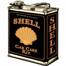 Shell Oil Can Plasma Cut Metal Sign