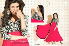 new designer party wear sushmita anarkali big flair gown style suit