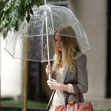 Fashion Transparent Clear Rain Umbrella Parasol Dome for Wedding Party Favor