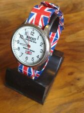 Brexit Wristwatch Watch NATO strap British flag colours Great Gift