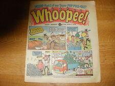 April 1976, WHOOPEE, David Essex, Bay City Rollers, Carl Lyons, Richard Cadwgan.