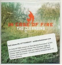 (AA178) In Case Of Fire, The Cleansing - DJ CD