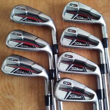 Titleist AP1 710 Iron Set 4-PW Regular Flex Steel Dynamic Gold High Launch R300!