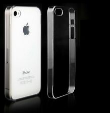 New Ultra Thin Clear Transparent Crystal Hard Case Cover For iPhone 4 4G 4S