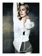 CHARLIZE THERON AUTOGRAPHED SIGNED A4 PP POSTER PHOTO