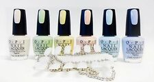 OPI Nail Polish Color PASTEL Collection T71 to T76 ~6ct ~ + 1 Color Palette