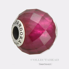 Authentic Pandora Essence Collection Happiness Synthetic Ruby Bead 796076SRU