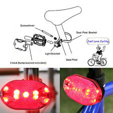 9 LED Bike Bicycle Cycling Rear Rack Light Waterproof Safety Warning Taillight