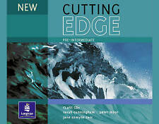 Longman NEW CUTTING EDGE Pre-Intermediate Class CD's @BRAND NEW & SEALED@