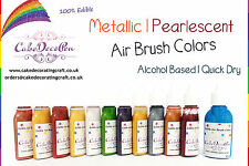 Metallic Edible Colors | Air Brush Cake Decorating| 20 ML| Royal Gold | Ethanol