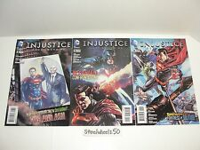 Injustice Gods Among Us #8 10 11 Comic Lot DC 2013 1st Print Year One Tom Taylor
