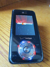 LG VX8550 Chocolate Verizon Bluetooth 1.3 Camera  Slider Music  Black Good