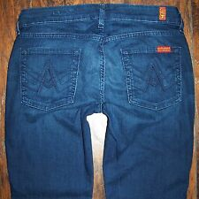 Women's 7 Seven For All Mankind A Pocket Bootcut Jeans Size 29 x 31