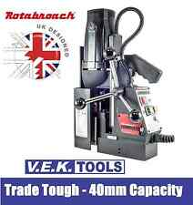 ROTABROACH 40MM MAG DRILL- MAGNETIC DRILL- UK DESIGNED- HOLEMAKER- ATRA