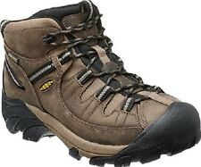 New Keen Mens Shitake Leather Targhee II Mid Athletic Hiking Trail Boots 9.5