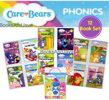 Care Bears Phonics Readers 10 Books 2 Workbooks short & long vowels Scholastic
