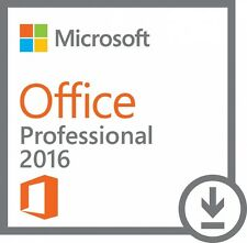 Microsoft Office 2016 Professional Plus Genuine Product/Licence/Activation Key