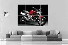 DUCATI MONSTER 696 Poster Grand format A0 Large Print