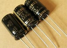 10 pcs ELNA SILMIC II Audio Electrolytic Capacitors 25V 220uF