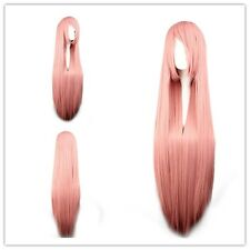 "Cosplay Wig Party Wigs Heat Resistant Synthetic 100cm/39.4"" for VOCALOID-luka"