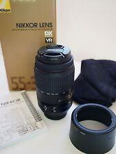 Nikon AF-S NIKKOR 55-300mm F4.5-5.6 G ED VR DX Lens (HE01) ~ Mint!