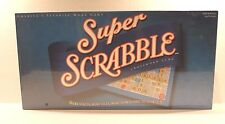 Super Scrabble Board Game - Classic Word-Making Crossword Wooden Tiles Game NEW