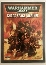 warhammer 40k chaos space marines codex