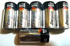 6 FRESH Energizer CR123A 3V Lithium Battery for Alarm Laser Flashlight USA 2024