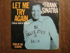 FRANK SINATRA 45 TOURS FRANCE LEFT ME TRY again