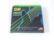 DR Guitar Strings Electric Neon Green 10-46 Medium