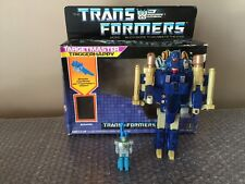 Hasbro Transformers Targetmaster Triggerhappy Loose Complete w/Blowpipe 1986 G1