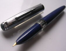 STYLO PLUME EUROSTYL PAR STYLOMINE BLEU ANCIEN COLLECTION VERS 1960