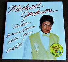 MICHAEL JACKSON 4 Track MEGA RARE ''PEPSI'' CBS GOLD PROMO BRAZIL 1982 NEAR MINT