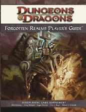 Forgotten Realms Supplement: Forgotten Realms Player's Guide by Wizards RPG Tea…
