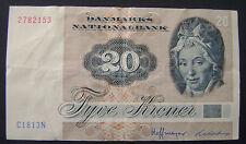 1972 Denemarken Denmark 20 Kroner PICK 49