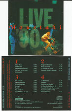 "GEORGES MOUSTAKI ""LIVE"" CD 1990 No Barcode - 20 Musiktitel"