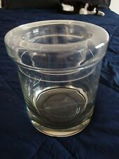 PRINCESS HOUSE HERITAGE HAND BLOWN CHAMPAGNE COOLER ICE BUCKET W/LID