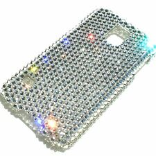 Crystal Diamond Bling Back Case for Samsung Galaxy S5 made w/ Swarovski Elements
