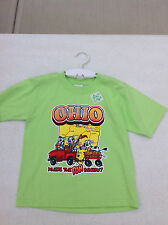 Ohio State Toddler Shirt Glows In The Dark NEW T 5/6