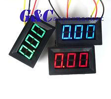 Red LED Panel Meter Mini Digital Voltmeter DC 0V To 30V NEW GODD