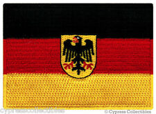 GERMAN HERITAGE BIKER FLAG PATCH GERMANY EMBROIDERED iron-on Aufnäher